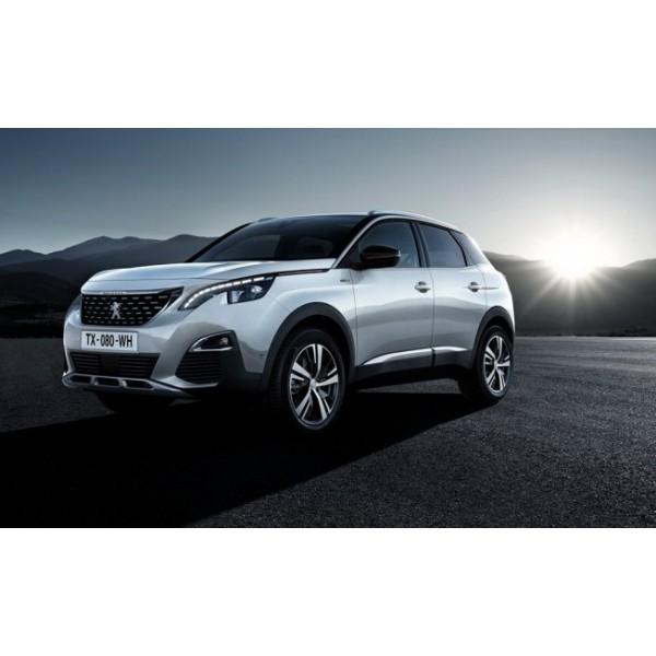 Sucata Peugeot 3008 2018 - Carro batido para venda de peças