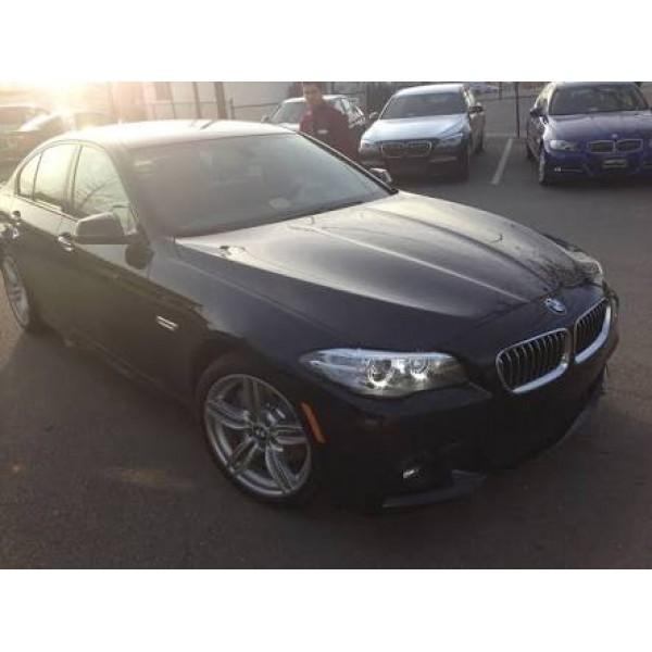 Sucata BMW 550i 2014 v8 - Carro batido para venda de peças