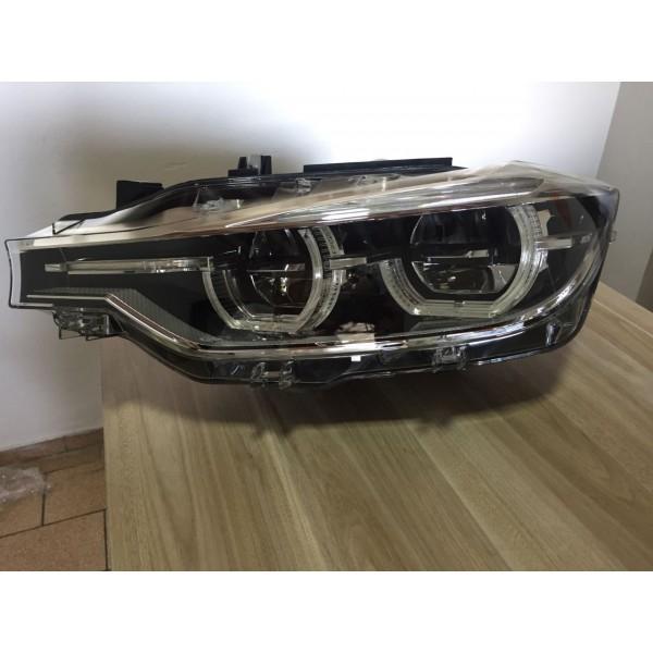 Farol Esquerdo BMW 320 2017 LED Para Xenon