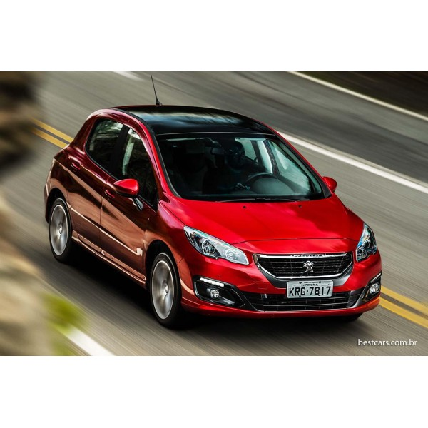 Sucata Peugeot 308 THP 2018 - Carro batido para venda de peças