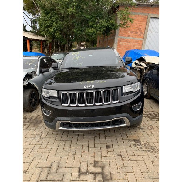Sucata Grand Cherokee 3.0 Diesel 2015 - Carro Batido para Venda de Peças