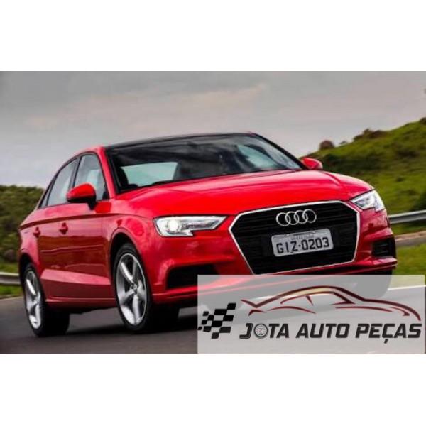 Sucata Audi A3 Sedan 2018 - Carro batido para venda de peças