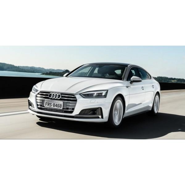 Sucata Audi A5 2018 - Carro Batido para venda de Peças