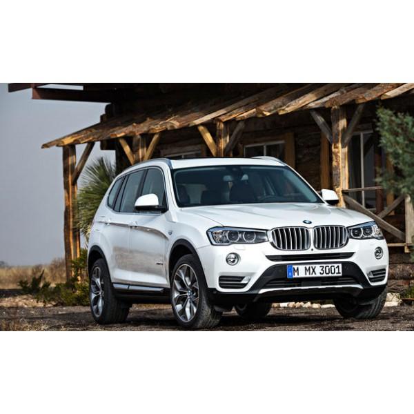 Sucata BMW X3 2015 - Carro batido para venda de peças