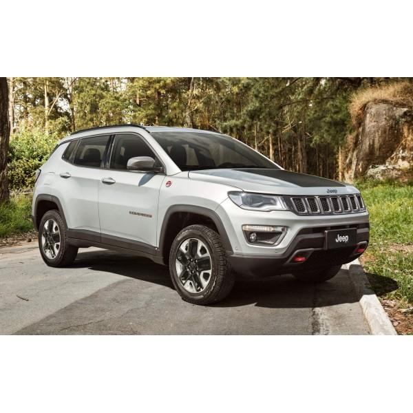 Sucata Jeep Compass Diesel 2017 - Carro batido para venda de peças