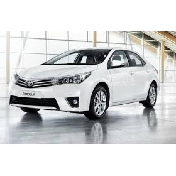 Sucata Toyota Corolla 2016 - Carro batido para venda de peças