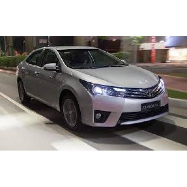 Sucata Corolla XEI 2015 - Carro batido para venda de peças