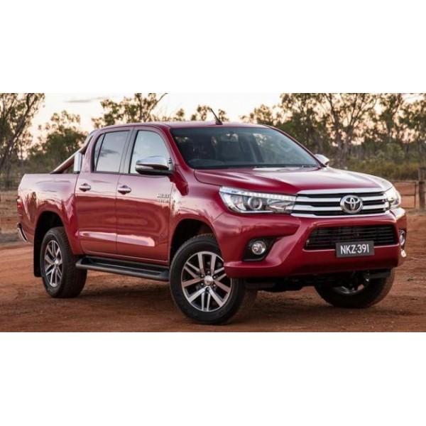 Sucata Hilux SRX 2017 Diesel - Carro batido para venda de peças