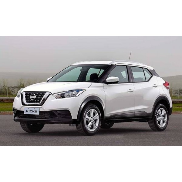 Sucata Nissan Kicks 2019 - Carro batido para venda de peças