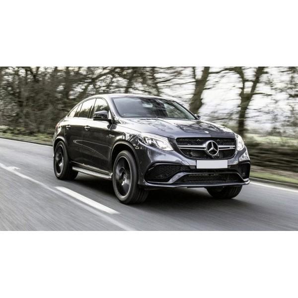 Sucata Mercedes GLE 400 2017 - Carro batido para venda de peças