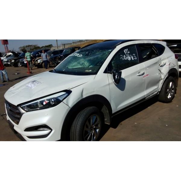 Sucata New Tucson 2018 - Carro batido para venda de peças