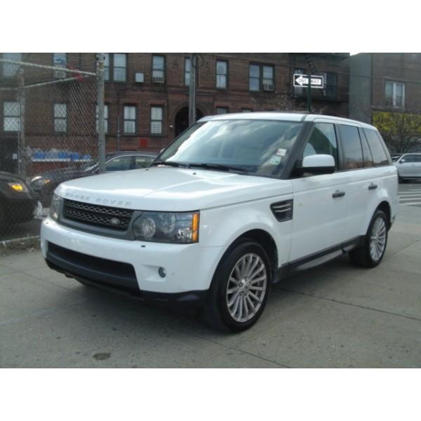 Sucata Range Rover Sport 3.0 2011 - Carro batido para venda de peças