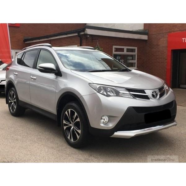Sucata Toyota Rav4 2015 - Carro batido para venda de peças