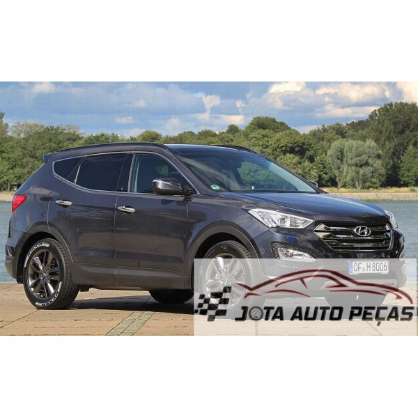 Sucata Santa Fé 2014 - Carro batido para venda de peças