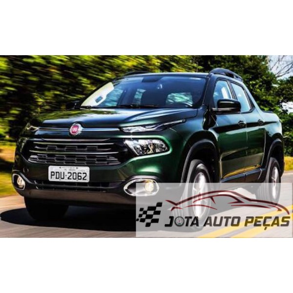 Sucata Fiat Toro 2017 flex - Carro batido para venda de peças