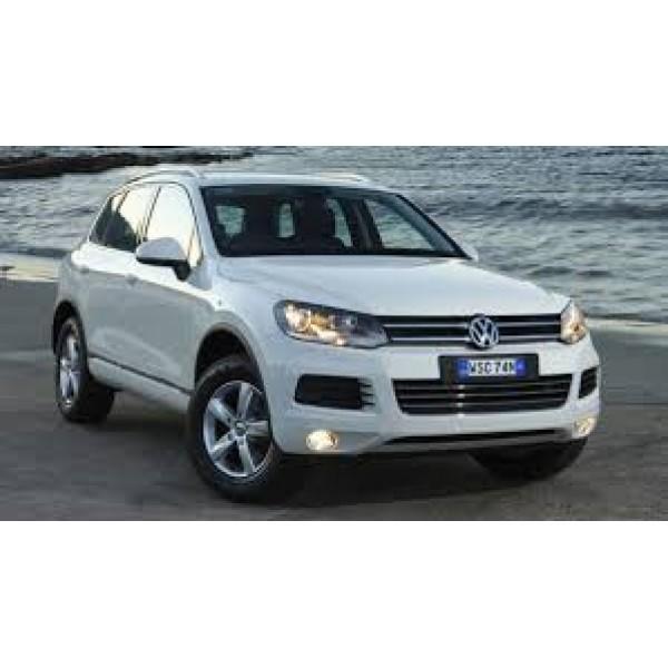 Sucata Touareg 2012 - Carro batido para venda de peças
