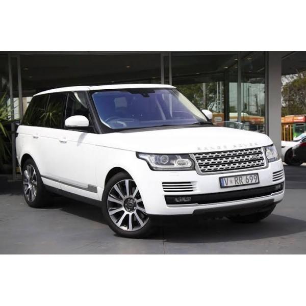 Sucata Land Rover Vogue 2016 - Carro Batido para Venda de Peças