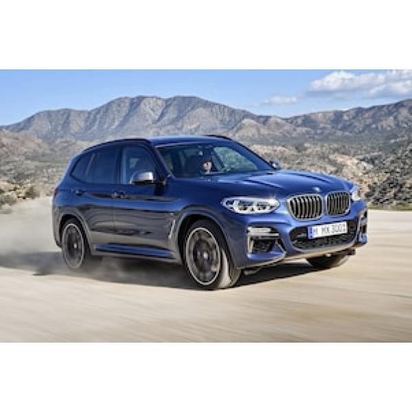 Sucata BMW X3 M 2018 - Carro Batido para venda de Peças