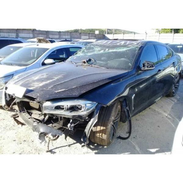 Sucata BMW X6 4.4 v8 2017 - Carro Batido para Venda de Peças